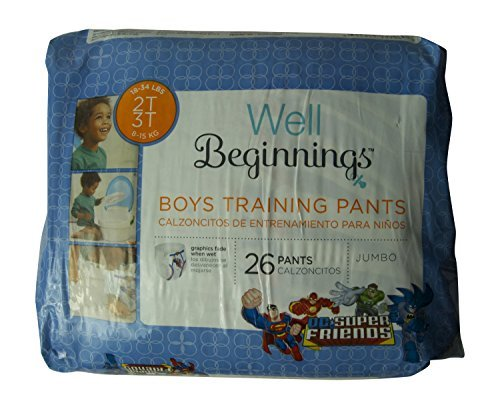Walgreens Premium Training Pants Boy, Jumbo, 2T/3T, 26 ea - 1