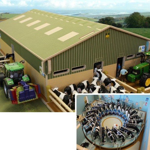 BRUSHWOOD Toy Farm BT2500 Rotary Milking Parlour scale 1:32