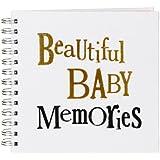 The Bright Side - Beautiful Baby Memories - Baby Scrapbook