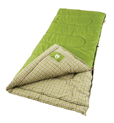 Coleman Green Valley CoolWeather Sleeping Bag Picture