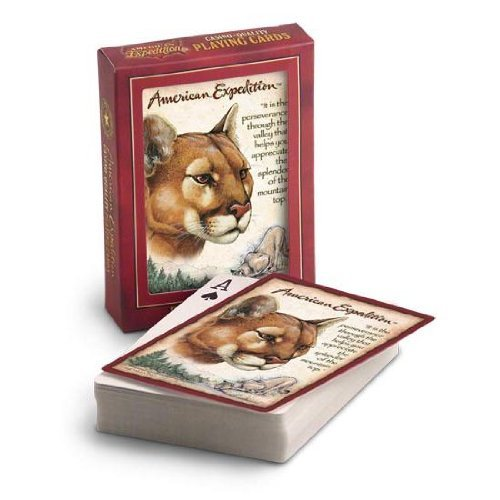 American Expedition Playing Cards - Mountain Lion