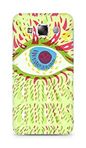 Amez designer printed 3d premium high quality back case cover for Samsung Galaxy E5 (Psychedelic eye)