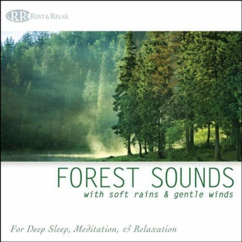 Forest Sounds with Soft Rains & Gentle Winds: Nature Sounds for Deep Sleep, Meditation & Relaxation