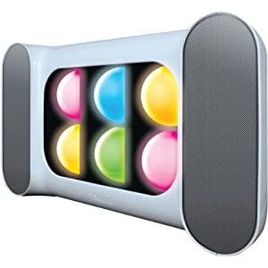 Dreamgear Isound-5271 Iglow Pro Bluetooth(r) Speaker With Dancing Lights & Rechargeable Battery (w