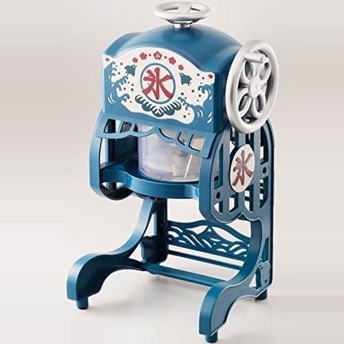 팥빙수 기계 (DOSHISHA) 전동 본격 둥실둥실 빙굴기 (Color:블루)