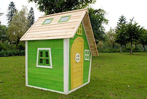 dein-spielplatz® Spielhaus Hexenhaus – WILLOW – aus Holz für Kinder – 102 x 110 x 154 cm online kaufen