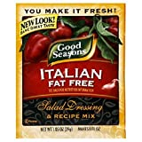 51%2B%2BplnVRiL. SL160  Good Seasons Salad Dressing & Recipe Mix, Fat Free Italian, 1.05 Ounce Packets (Pack of 24)