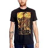 Doctor-Strange-T-Shirt-Stephen-Strange-zum-Marvel-Film-Elbenwald-Baumwolle-schwarz