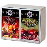 Maple Apple Cider and Cranberry Pomegranate Double Pack