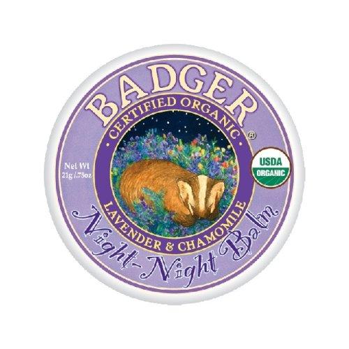Badger バジャー オーガニックナイトナイトバーム 21g