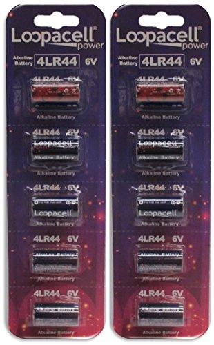 10-4LR44-6V-Alkaline-Batteries-for-Dog-ShockTraining-Collars-by-Loopacell
