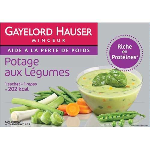 Gayelord Hauser - repas - Potage aux légumes