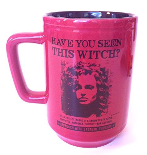 Wizarding World of Harry Potter : Bellatrix Lestrange Wanted Witch Ceramic Coffee Mug Cup