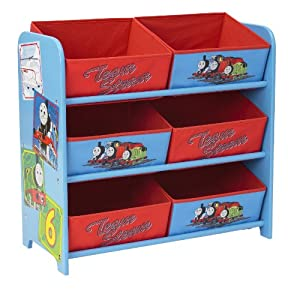 Thomas & Friends 6 Bin Storage Unit