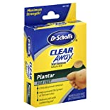 Dr. Scholl's Clear Away Wart Remover, Maximum Strength, Plantar for Feet, 24 ct.