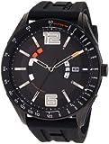 Tommy Hilfiger Men's 1790797 Sport Black Tonal Silicon Watch