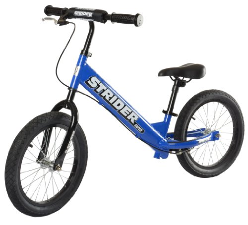 Best Kids Balance Bike for Sale - Blue STRIDER SUPER 16 SS-1 Bike, No-Pedal Boys and Girls Balance Bike For Ages 6 To 10 Years Old