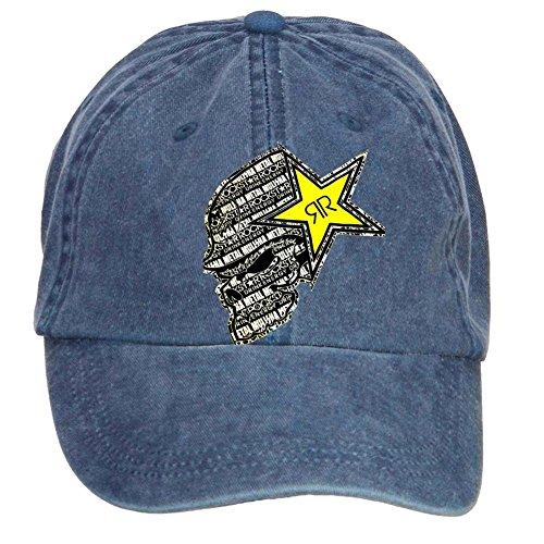Futhure Unisex Rockstar Energy Drink DIY Adjustable Baseball Hat (Rockstar Energy Drink Shorts compare prices)
