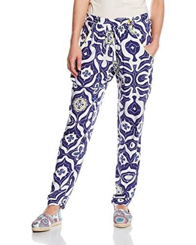 Desigual Trousers Pant_Carmin, 5001 Marino, 24