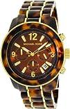 Michael Kors MK5805 Mid-Size Tortoise Acetate Chronograph Watch