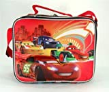 Black and Red Disney Cars WGP Foes Lunch Bag