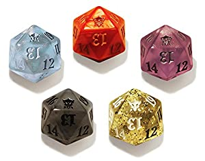 Magic the Gathering MTG Dragons of Tarkir Spin Down Dice Set of 5