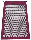The Pink Shakti Yantra Mat (Original Tension) - Better than the original version, more Acupressure Points