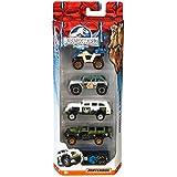 Matchbox Jurassic World 1:64 Vehicle 5-Pack (Styles May Vary)