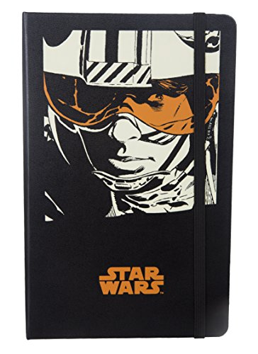 Limited Edition Star Wars Luke Skywalker Hard Cover A5 Ruled Notebook