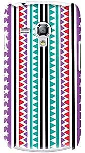 Kasemantra Tribal Print Case For Samsung Galaxy S3 Mini