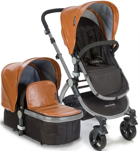 Baby-Roues-LeTour-Lux-II-CAMEL-Lightweightt-Compact-Stroller-w-Bassinet