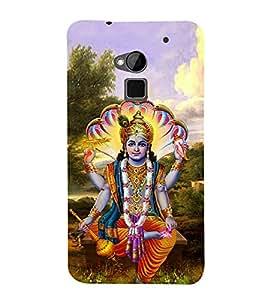 Lord Vishnu Ji 3D Hard Polycarbonate Designer Back Case Cover for HTC One Max