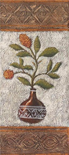 canvas-prints-of-oil-painting-flowers-in-the-vase-24-x-54-inch-61-x-138-cm-high-quality-polyster-can