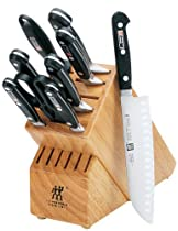 Hot Sale Zwilling J.A. Henckels Twin Pro S Stainless-Steel 10-Piece Knife Set with Block