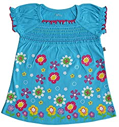 Babeez Baby Girl 100% Cotton Dress with print to fit height 86 - 92cms