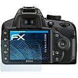 3 x atFoliX Nikon D3200 Film protection d'écran Film protecteur - FX-Clear ultra claire