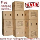 Medium Moving Boxes 10 Pack Professional