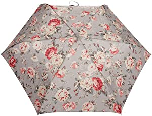 Cath Kidston Minilite 2 Women's Umbrella Garden Rose Grey One Size