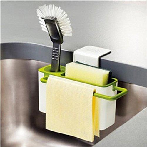 Moldiy Sink Caddy, Kitchen Soap and Sponge Holder