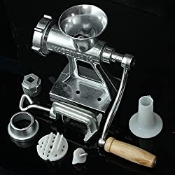 Manual Operation Crank Meat Mincer Sausage Machine