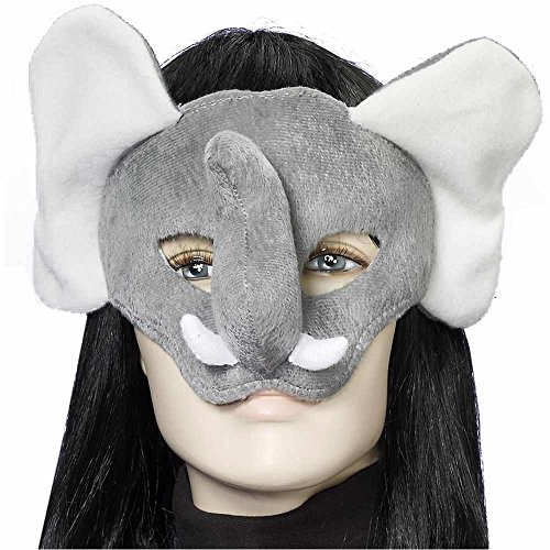 Elephant Plush Mask - One Size