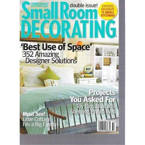 small room decorating magazine country almanac better use of space