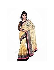 Bollywood Designer Golden Net Saree