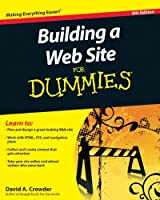 Building a Web Site For Dummies, 4th Edition Front Cover