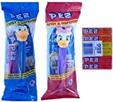 Disney Daisy & Donald Duck Pez Dispenser and Candy Refill