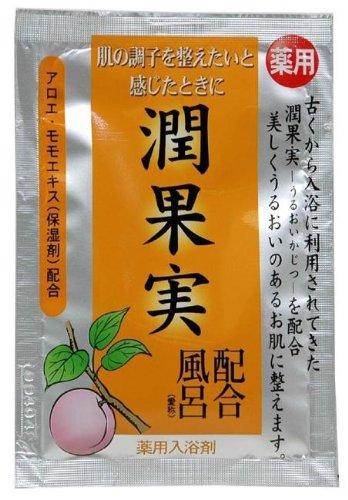 五洲薬品 薬用入浴剤 古風植物風呂 潤果実配合風呂 25g×30包