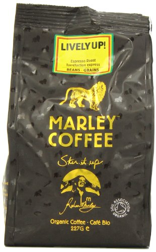 Marley Coffee Lively Up Espresso Roast Whole Bean Coffee 227 g