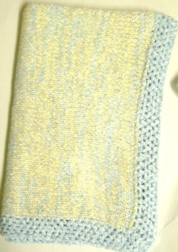 Hand Knitted Baby Blanket back-338348