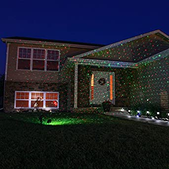 Remote Controlled Outdoor Laser Light Waterproof Landscape