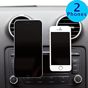 Car mount, Tablet mount InfiniApps DuoMount[MAGNETIC MOUNT] The original, best, patented CD Slot Mount, Car Phone Mount